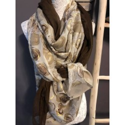 Foulard création artisanale