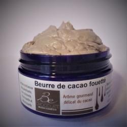 Beurre de cacao fouetté...